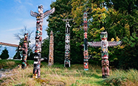 Stanley Park, Totems